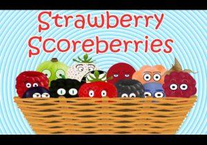 Strawberry Scoreberries - copyright Mark J. Towers